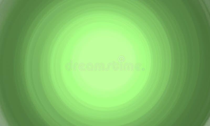 Fondo sviluppantesi a spirale verde illustrazione di stock