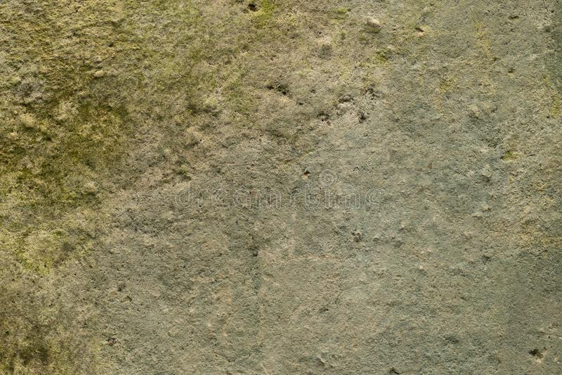Fondo, textura del vintage del hormigón viejo del molde foto de archivo