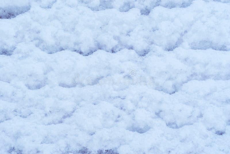 Fondo, textura - superficie de la nieve fotografía de archivo libre de regalías