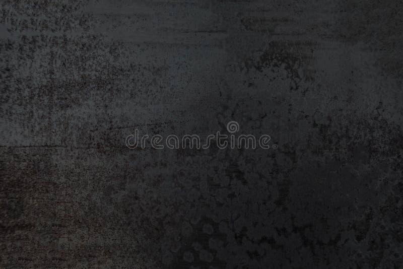 Fondo textured negro abstracto Pared de la obscuridad de Grunge imagenes de archivo