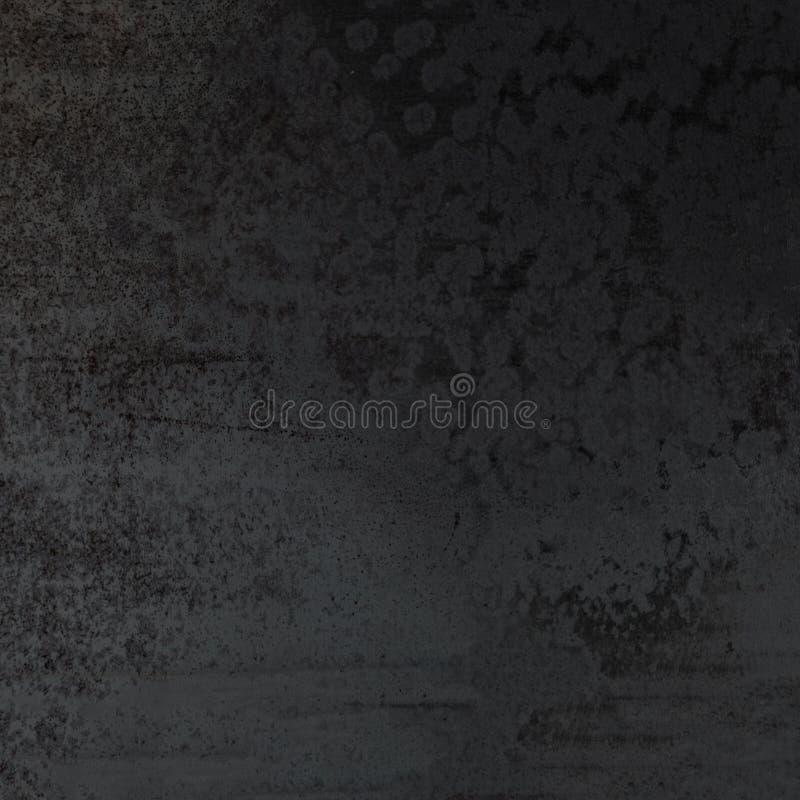 Fondo textured negro abstracto Pared de la obscuridad de Grunge fotografía de archivo libre de regalías