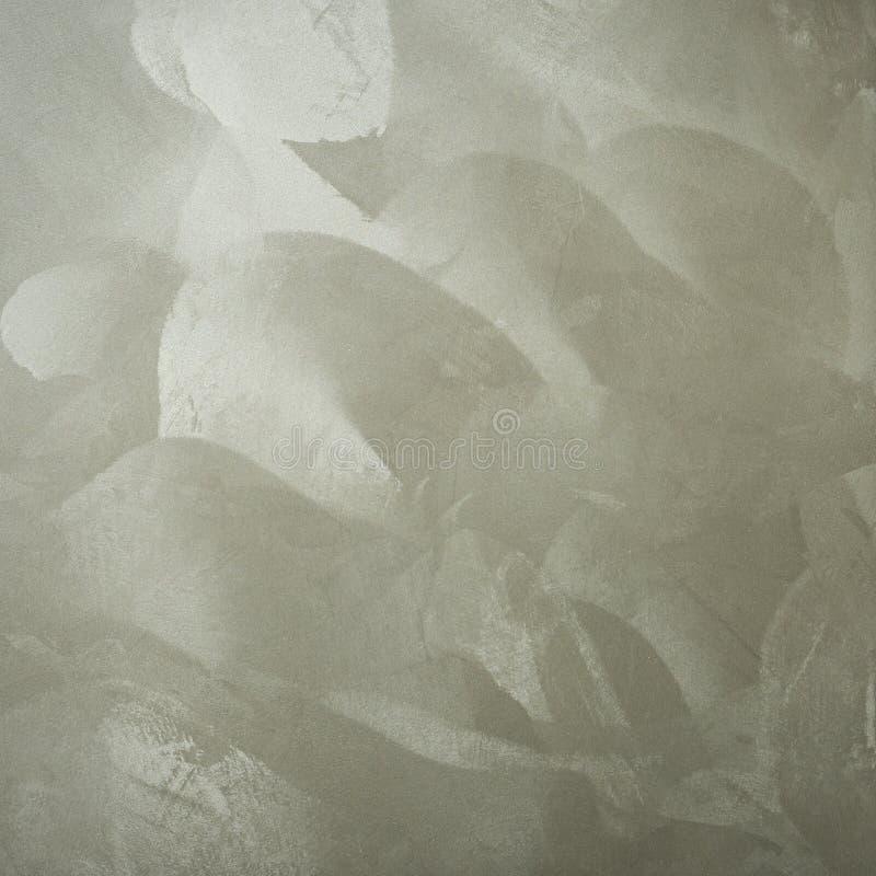 Fondo Textured Paredes decorativas del yeso, decoración externa de la fachada Textura de la plata fotos de archivo