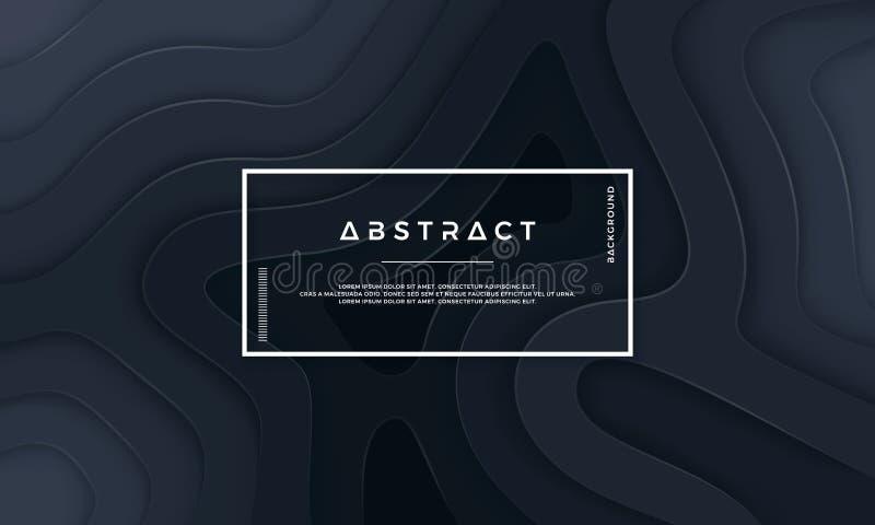 Fondo texturizado abstracto con capas onduladas libre illustration