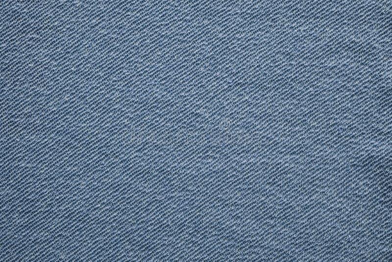 Fondo texturizado azul de la tela de algodón, concepto de la materia textil del diseño del modelo de la moda fotos de archivo
