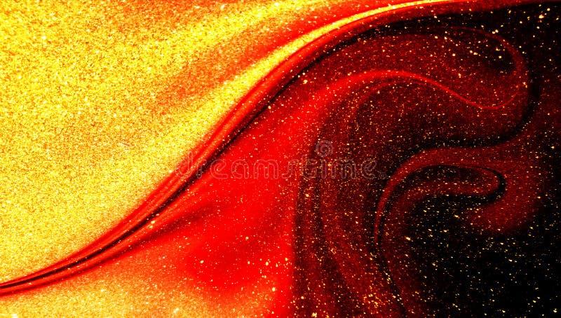 Fondo texturizado brillo sombreado multicolor del extracto con efectos luminosos wallpaper fotografía de archivo