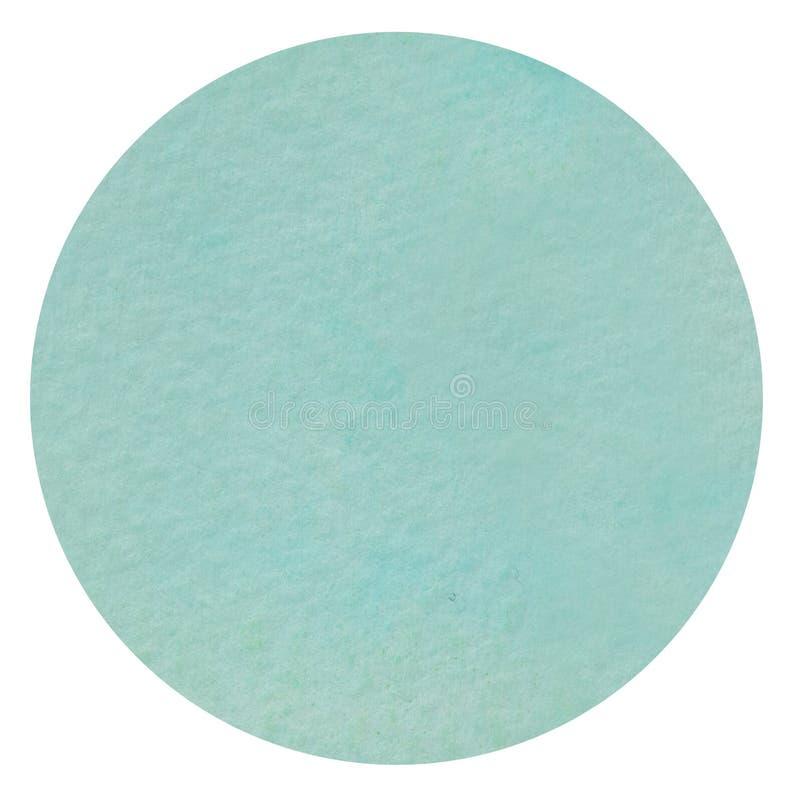 Fondo texturizado círculo de la acuarela imagen de archivo