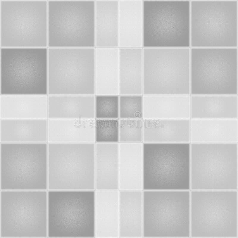 Fondo texturizado con los cuadrados y los rectángulos ilustración del vector