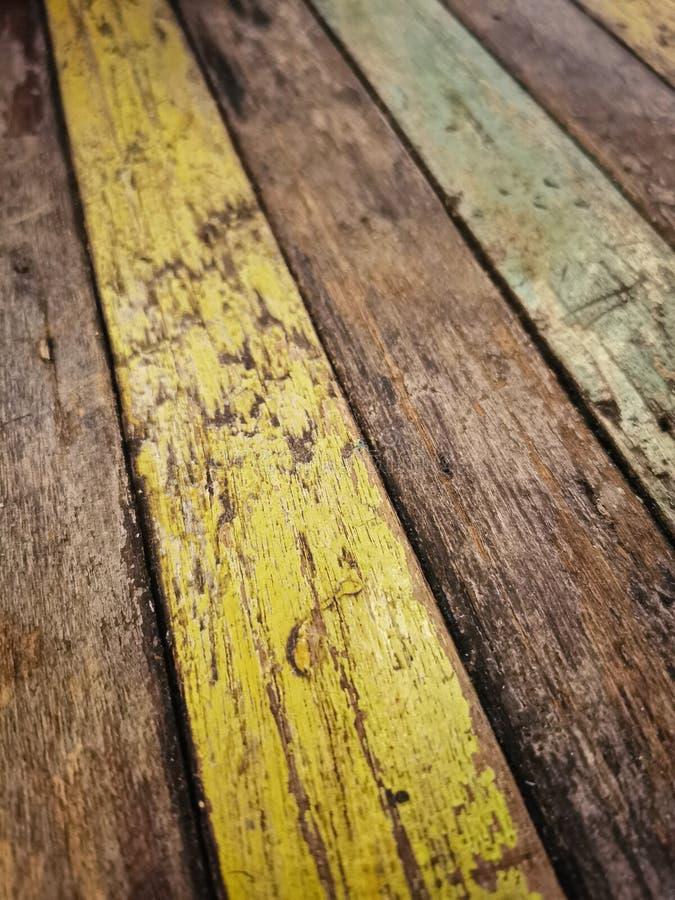 Fondo texturizado de la madera colorida vieja fotos de archivo libres de regalías