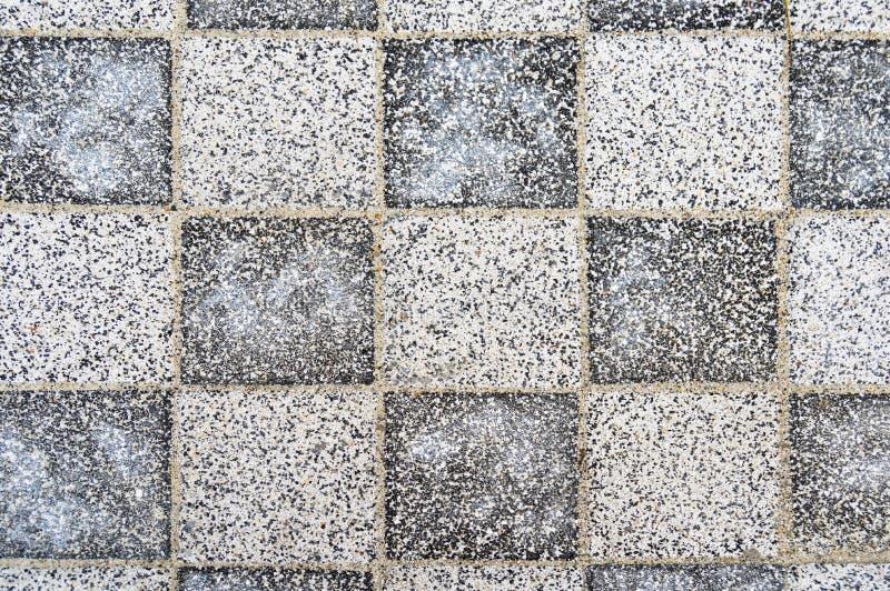 Fondo texturizado de lujo de la piedra de pavimentación foto de archivo