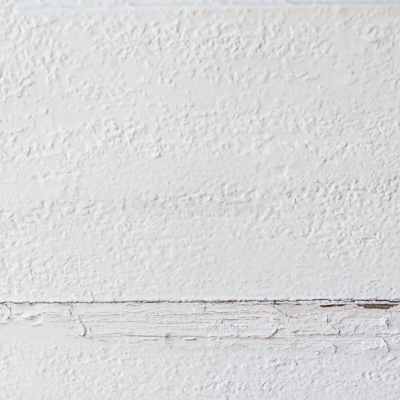 Fondo texturizado de madera blanco con el modelo y el scratc naturales imágenes de archivo libres de regalías