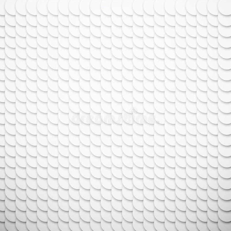 Fondo texturizado escamoso del Libro Blanco ilustración del vector