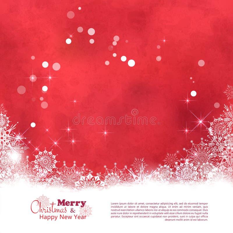 Fondo texturizado extracto del vector de la Navidad stock de ilustración