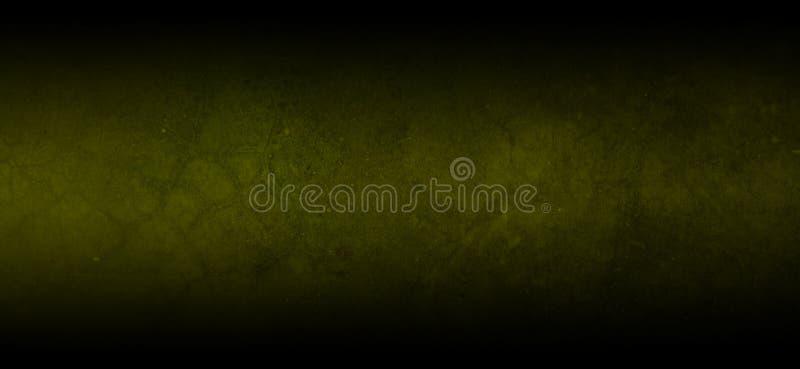Fondo texturizado horizontal del color verde oscuro negro oscuro del grunge fotografía de archivo