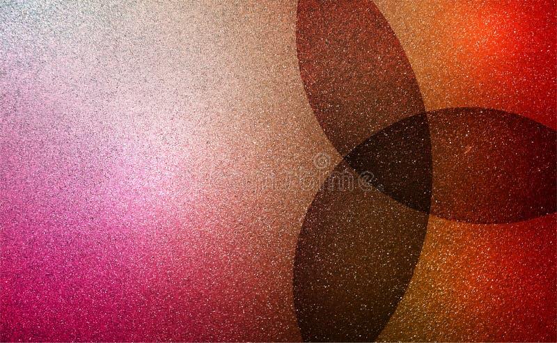 Fondo texturizado ondulado sombreado multicolor del extracto textura de papel del fondo del grunge Papel pintado del fondo ilustración del vector