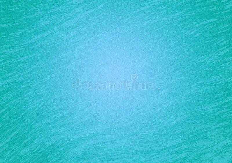 Fondo texturizado pendiente de la turquesa para el papel pintado libre illustration