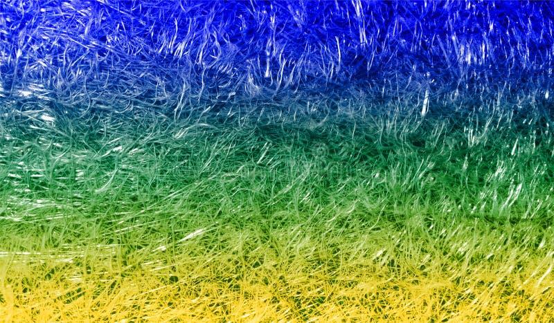 Fondo texturizado reluciente metálico brillante sombreado colorido del extracto con efectos luminosos Fondo, papel pintado fotos de archivo