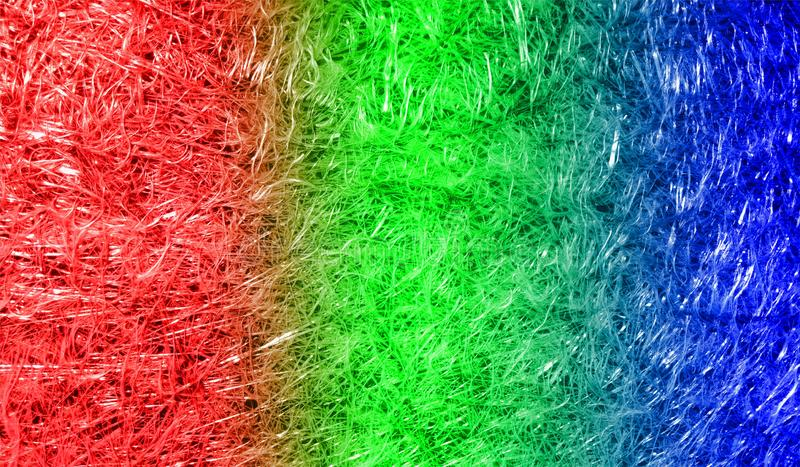 Fondo texturizado reluciente metálico brillante sombreado multicolor del extracto con efectos luminosos Fondo, papel pintado fotos de archivo