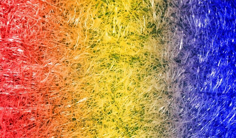 Fondo texturizado reluciente metálico brillante sombreado multicolor del extracto con efectos luminosos Fondo, papel pintado imagen de archivo