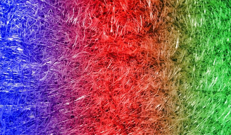 Fondo texturizado reluciente metálico brillante sombreado rojo azul del extracto con efectos luminosos Fondo, papel pintado imagenes de archivo