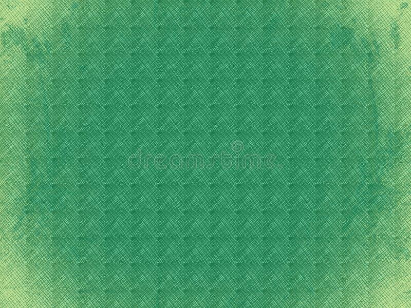 Fondo texturizado verde con los cuadrados imagen de archivo libre de regalías