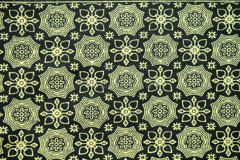 Fondo del modello del Sarong del batik fotografie stock