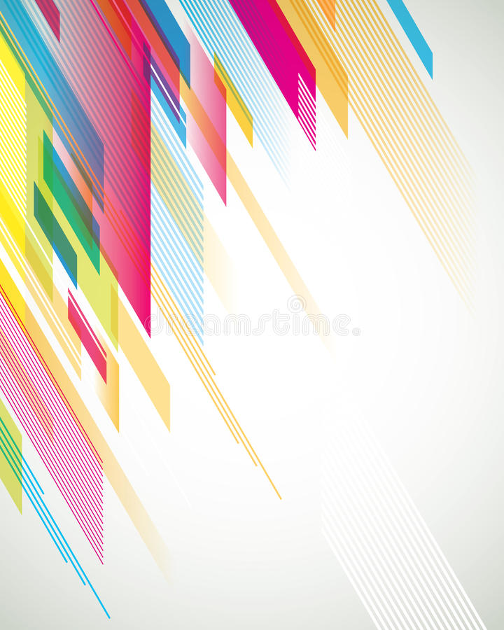 Fondo transparente anguloso ilustración del vector
