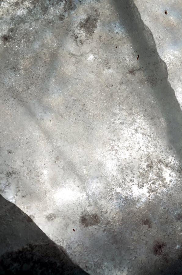 Fondo transparente natural de la textura de los cristales de hielo imagen de archivo