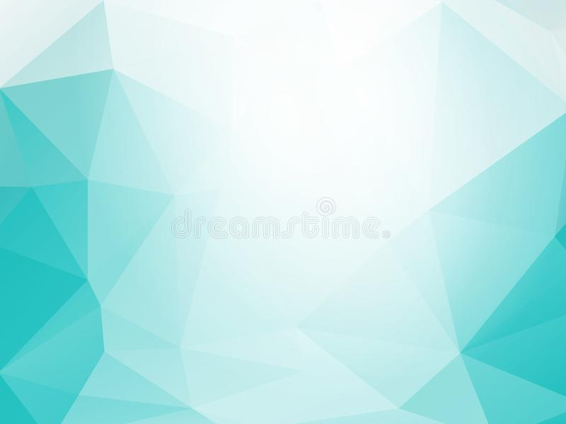 Fondo triangolare fresco royalty illustrazione gratis