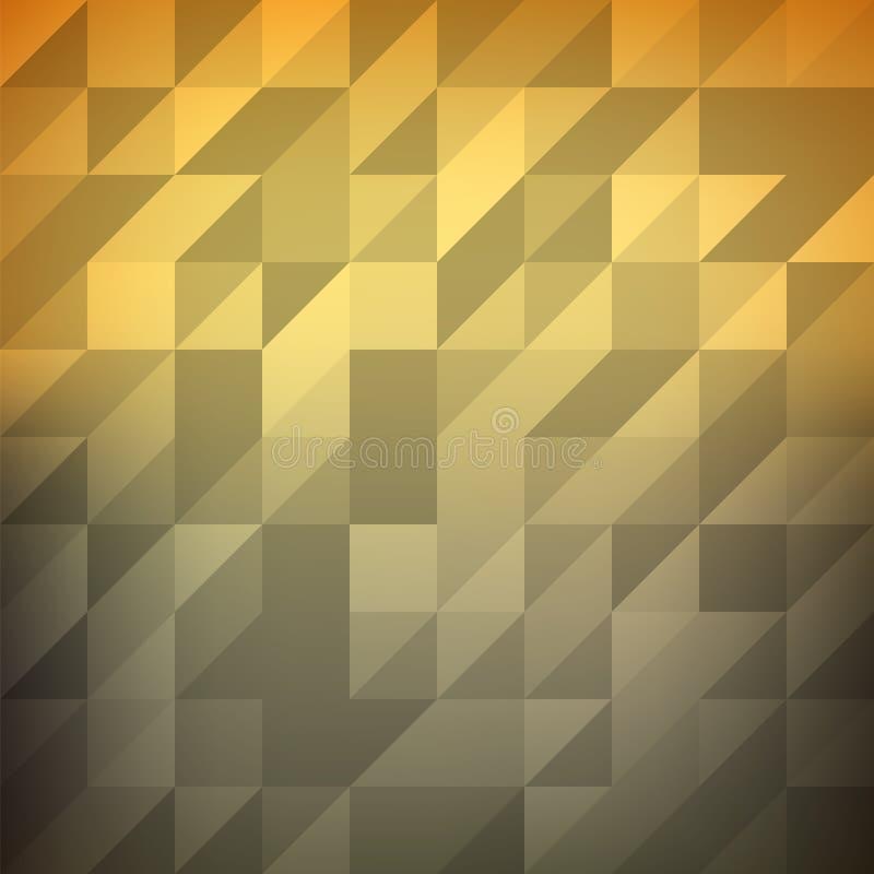 Fondo triangolare poligonale basso di vettore di pendenza illustrazione di stock