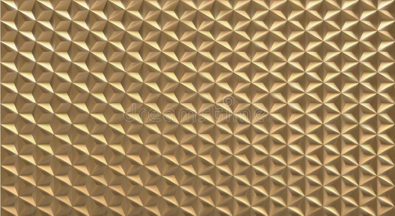 fondo triangolare poligonale del modello di forma di vettore 3D illustrazione vettoriale