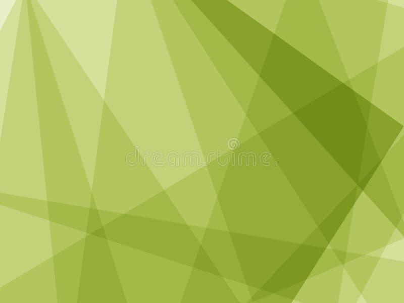 Fondo triangular del polígono bajo ilustración del vector