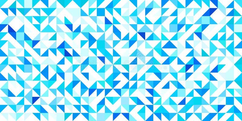 Fondo triangular Ilustración del vector impresión geométrica moderna con los triángulos Colores brillantes repet abstracto libre illustration