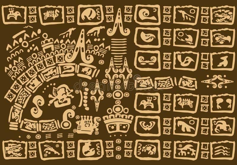 Fondo tribal decorativo libre illustration