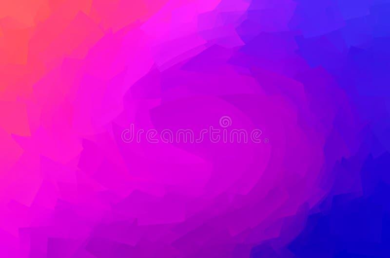 Fondo ultra púrpura de la pendiente ilustración del vector