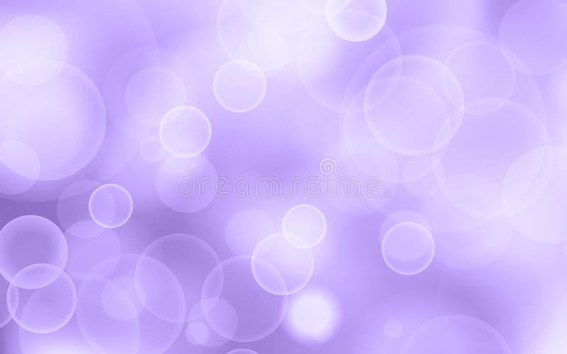 Fondo ultravioleta del bokeh del brillo libre illustration