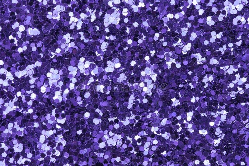 Fondo ultravioletto di scintillio luminoso e festivo immagini stock libere da diritti