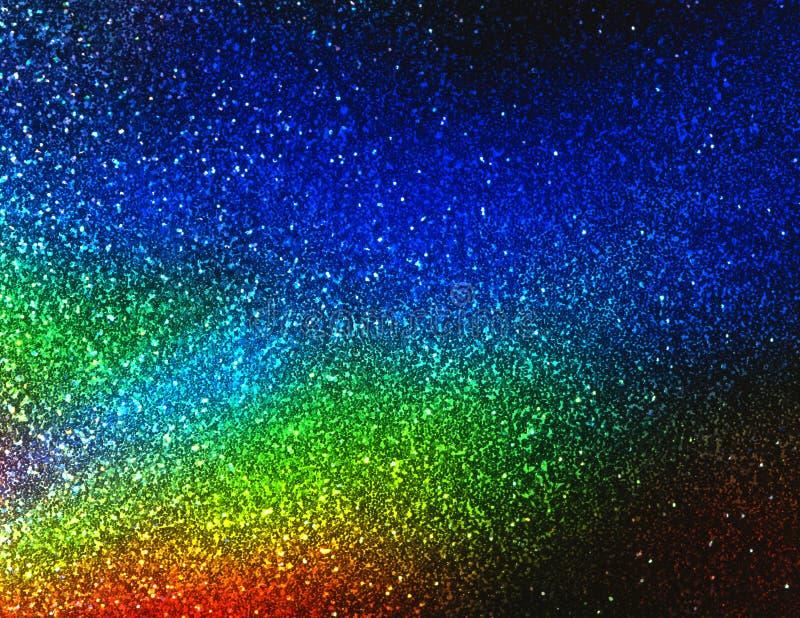 Fondo-UNo del color del arco iris fotos de archivo