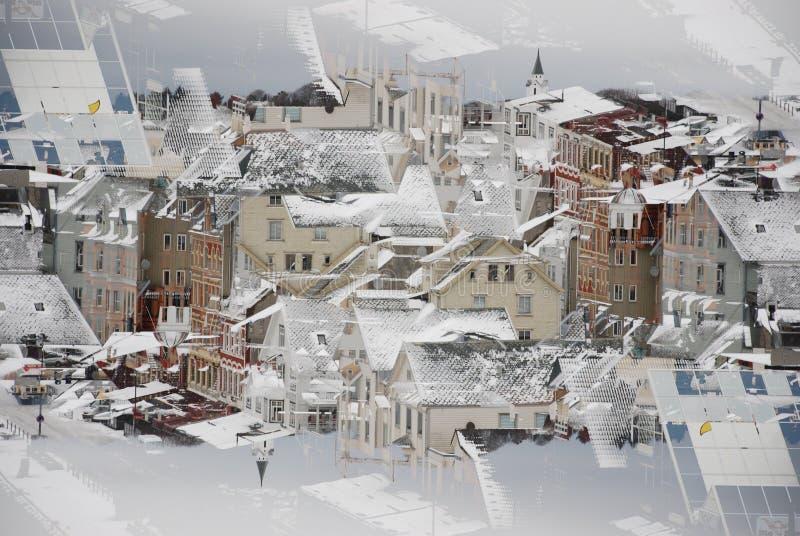 Fondo urbano foto de archivo libre de regalías