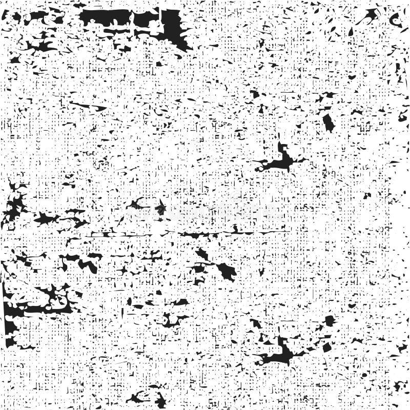 Fondo urbano di struttura di lerciume nero illustrazione di stock