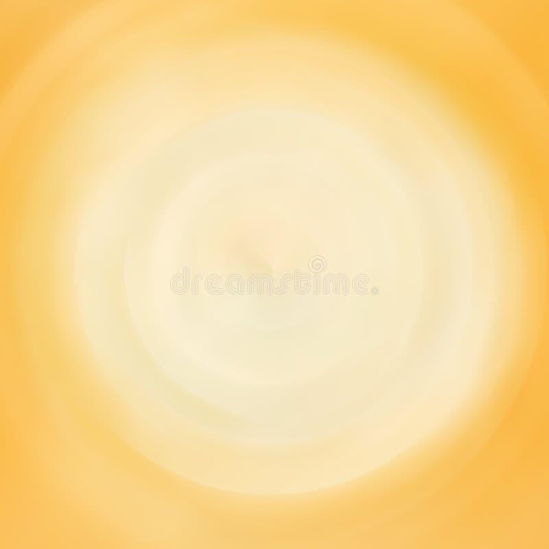 Fondo vago arancione-chiaro per web design illustrazione di stock
