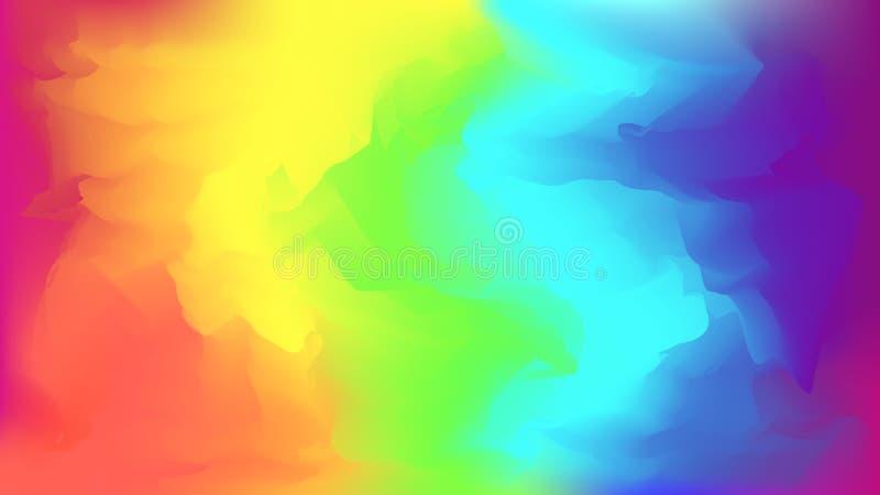 Fondo vago arcobaleno luminoso astratto fotografie stock