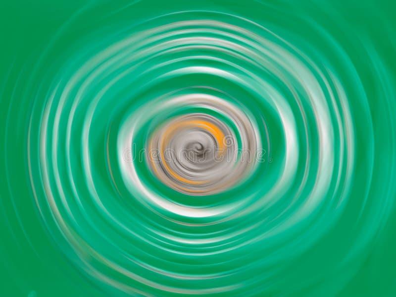 Fondo vago struttura geometrica astratta modello di moto delle parti radiali torte illustrazione vettoriale