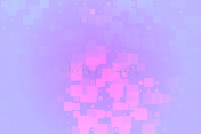 Fondo vario d'ardore delle mattonelle del lillà porpora rosa royalty illustrazione gratis