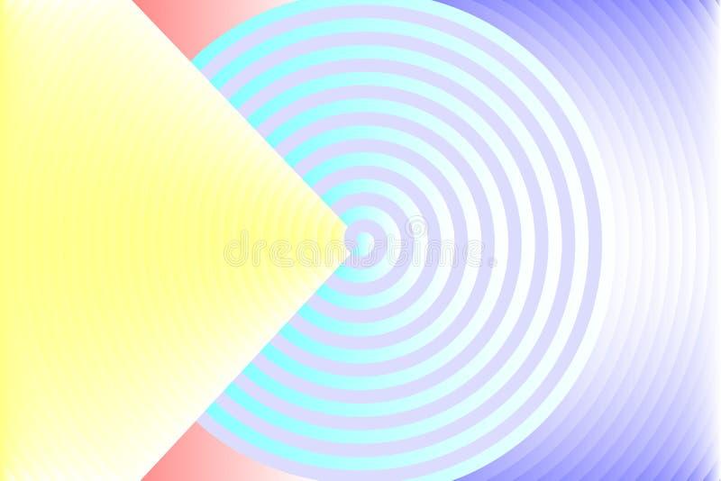 Fondo variopinto astratto di struttura nella viola gialla, blu, porpora, rosso, colori grigi Vector l'illustrazione, EPS10 illustrazione vettoriale