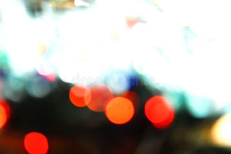 Fondo variopinto del bokeh delle luci, Chrismas immagini stock