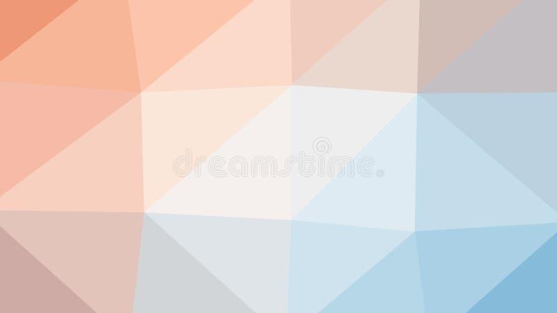 fondo variopinto del poligono del triangolo dell'estratto 8K royalty illustrazione gratis