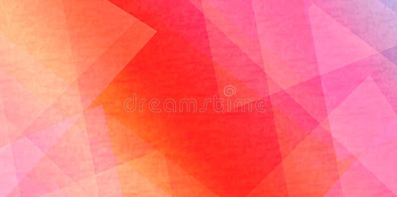 Fondo variopinto del triangolo di pendenza per uso commerciale fotografie stock