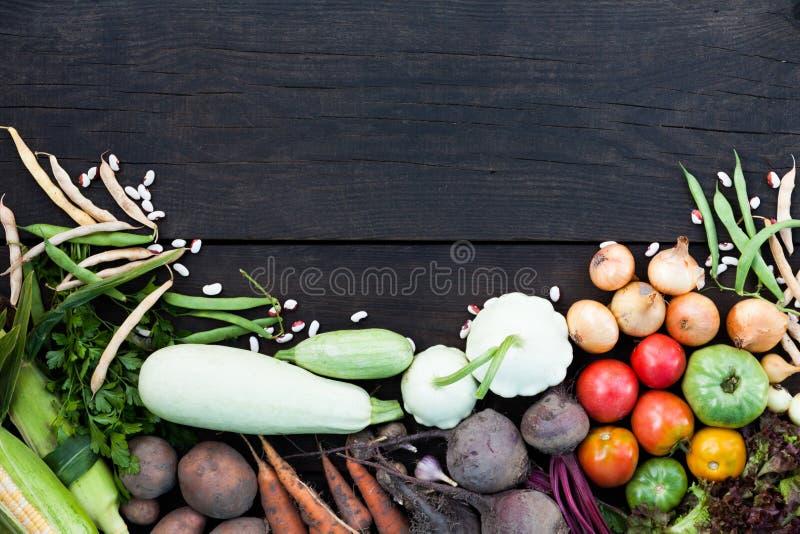 Fondo vegetariano dell'alimento, ingredienti sani freschi Insalata cruda dell'alimento fotografie stock