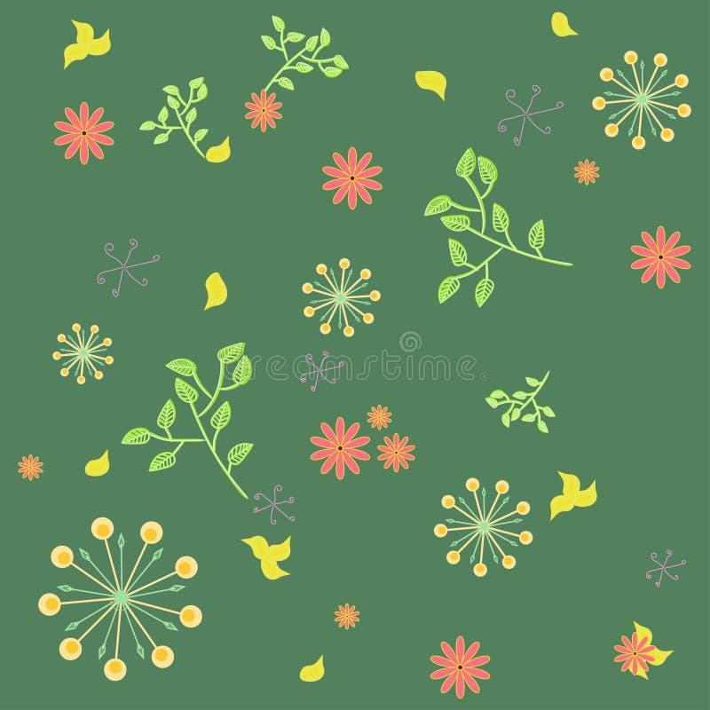Fondo verde fotografie stock