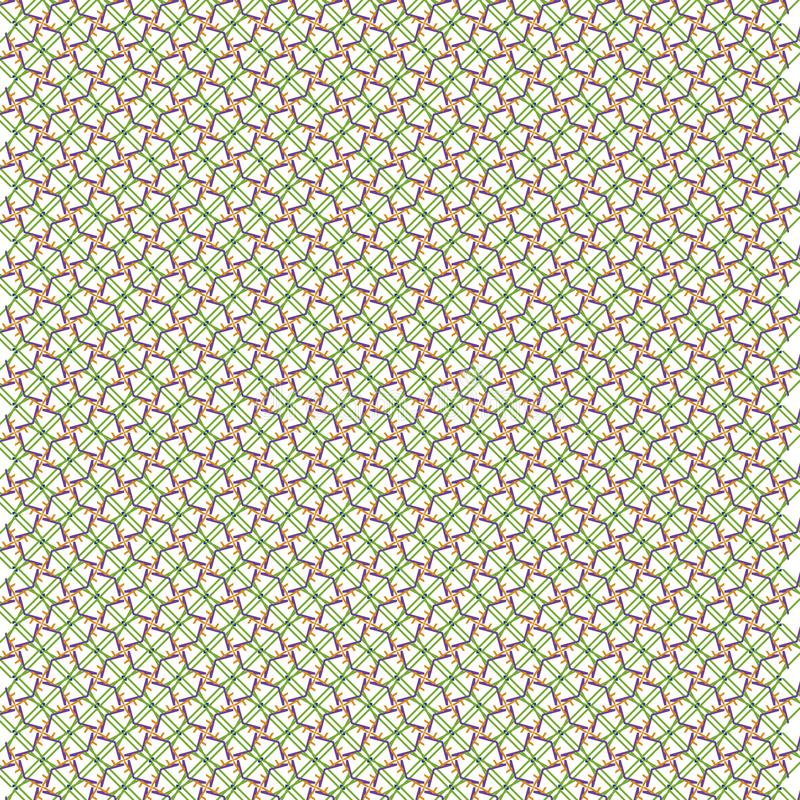 Fondo verde abstracto único del modelo ilustración del vector